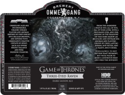 Ommegang Brewery | Three Eyed Raven 7.2% ABV