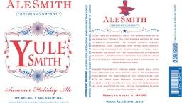 Alesmith   Yulesmith summer ale   8.5% ABV
